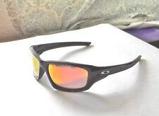 New Oakley Valve Sunglasses Polished Black / Custom Polarized Ruby Iridium Lens