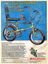 Raleigh Chopper, Retro Vintage Aluminium Sign Gift, Home, Bike, Raleigh