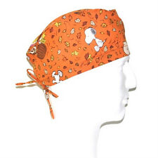 Peanuts Gang Woodstock & Snoopy Fall Theme Scrub Hat