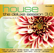 CD House The Deluxe Session 3 von Various Artists 2CDs