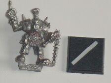 Orco Rock chukar Commander - 1988 * Warhammer Orcos Y Goblins * Games Workshop