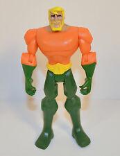 """2009 Animated Aquaman Aqua Man 5"""" Action Figure Batman Brave & Bold DC Comics"""