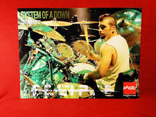 System Of A Down **John Dolmayan** Paiste Cymbals Promo Poster
