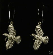 Pewter Turkey Dangle Earrings by Empire Pewter