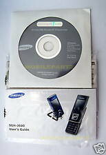 SAMSUNG J600 USER MANUAL CD SOFTWARE SUITE & DATA CABLE