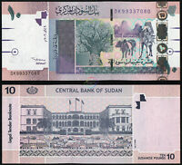 SUDAN 10 Pounds 2006 P-67 UNC Uncirculated