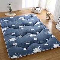 2020 thick tatami mattress foldable mattress single student sponge soft