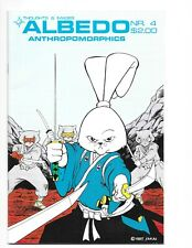 Thoughts and Images Albedo Anthropomorphics #4 (1985) Mid Grade