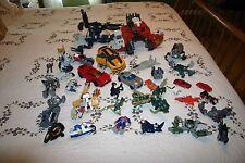 Transformers Large Lot 32 Vintage Toys Robots Hasbro Bandai 1980's-2000's