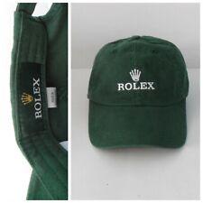 Rolex Watch Hat - Authentic Rolex Green - Brand new - Never Worn - Soft Cotton