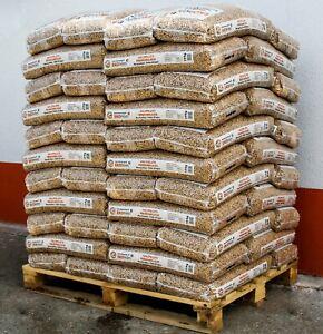 EKO Premium Pellets zertifiziert DIN & EN PLUS Norm, 990 kg pro Palette je 15 kg
