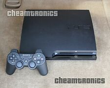 sony playstation 3 slim 120gb system-firmware ps3 3.55 - guter zustand