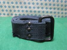 Vintage - CINTURA UOMO in CORDA-CANVAS  colore Blu lunghezza Cm. 135