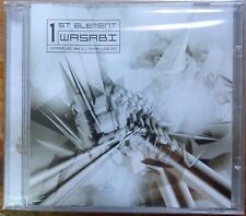 trance 2002 CD - wasabi- 1 st. element  - OOP -  new sealed mint -israeli