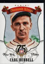 2014 Panini Hall of Fame Baseball Diamond Kings Carl Hubbell #19