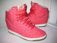 Nike Sky Hi Red Print 543258-600 Women's Shoes Size 40.5 / 9
