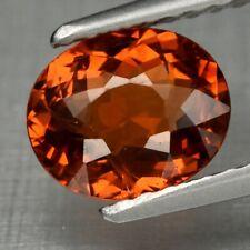 1.26ct 7x5.8mm VS Oval Natural Orange Spessartite Garnet, Namibia