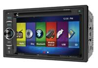 """Soundstream VR-64H2B 2 DIN CD/DVD Player 6.2"""" Bluetooth Android MobileLink 8.2"""