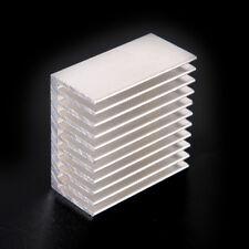 Silver Tone Aluminum Cooler Radiator Heat Sink Heatsink 40x40x20mm TNUK