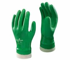 4 pairs SHOWA 600 PVC Coated Gloves - Size 9/L