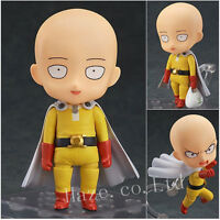 Anime One Punch Man Hero Saitama Nendoroid Series PVC Figure Toy 10cm