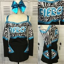 Real Cheerleading Uniform Adult Med Fierce
