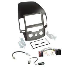Hyundai i30 ab 08 2-DIN Autoradio Einbauset Adapter Kabel Radioblende