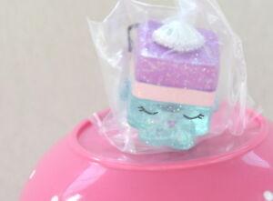 Shopkins Food Fair *NEW* ULTRA RARE!!! Blue LE'QUORICHE FF-050 Glitter Authentic