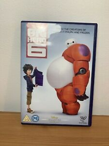 DISNEY BIG HERO 6 DVD - FREE POSTAGE