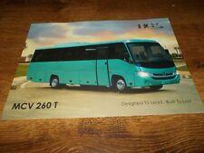 MCV 260 T Coach Brochure Prospekt Catalogue