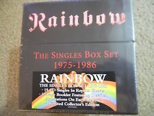 RAINBOW ~ THE SINGLES BOX SET, 1975-1986 ~ 19 CDS~ NEW/SEALED ~ RONNIE JAMES DIO