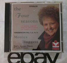 VIVALDI - The Four Seasons / 4 Violin Concertos - Monica HUGGETT - CD Virgin