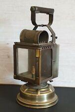 Ancienne LAMPE / LANTERNE de Cheminot  - Fabriquée par A.BUTIN à Paris