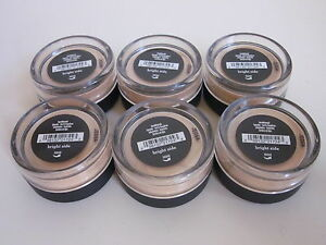 LOT OF 6 ~ bare Minerals BRIGHT SIDE Eyecolor ~ $90 Full Size ~ NEW & SEALED ~