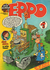 STRIPWEEKBLAD EPPO 1977 nr. 44 - DE GENERAAL (POSTER + COVER)/VARIOUS COMICS