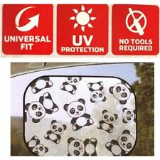 Auto Drive Panda Cling Shade Baby Car Window Sun Shade Uv Protection Kids Travel