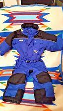 Columbia Tectonite Toddler Kids Boys Blue Blk Waterproof  Pants Snowsuit Bibs 3T