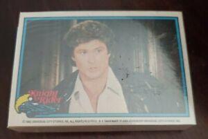 1982 Donruss Knight Rider Trading Card Set (55) Nm/Mt