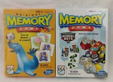 Hasbro Memory Matching Game Two Pack Transformers Rescue Bots & Original Classic