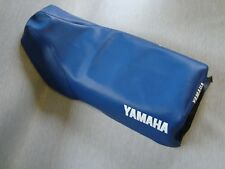Motorcycle seat cover - 1998 Yamaha DT175 in blue