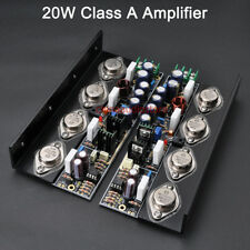 Pair 20W  Non-Feedback Pure DC Class A Stereo Amplifier,ON MJ15024/25 MJ15034/35