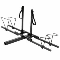 2 Bike Bicycle Carrier Hitch RACK Receiver 2'' Heavy Duty Mount Rack Truck SUV