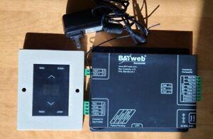 BAYweb Internet Thermostat BW-BCU4-1 beige keypad
