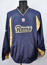 ST LOUIS RAMS Men's XL Jacket American Football NFL Shirt Jersey Jumper Vintage