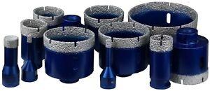 M14 Diamantbohrkrone Fliesenbohrer Diamantbohrer 6-102 mm für Winkelschleifer