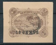 [55892] Seychelles good Used Very Fine Local post stamp