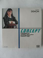 """CONCEPT ORIGINAL MINI ALBUM 3"""" GOLD CD DENON THE RITZ MOVIN' UP 1988 RARE PROMO"""