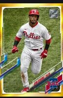 Topps BUNT Jean Segura GOLD PHYSICAL SERIES 2021 [DIGITAL CARD]