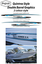 Quintrex COAST RUNNER CV (Double Barrel graphics) 2 colour style SPECIAL PRICE