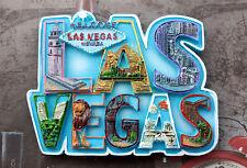 Las Vegas, USA Reiseandenken 3D Polyresin Souvenir Kühlschrankmagnet Magnet
